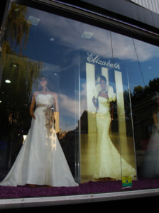световой лайтбокс Салон свадебной моды Elizabeth