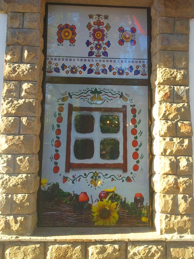 Дизайн оформления витрин