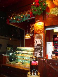 объемные буквы с подсветкой для кафе Кулиничи на Пушкинской