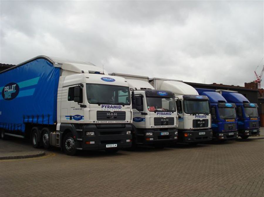 брендирование грузового автотранспорта