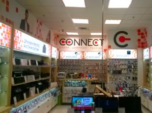 оформление интерьера для сети салонов цифровой техники в Харькове