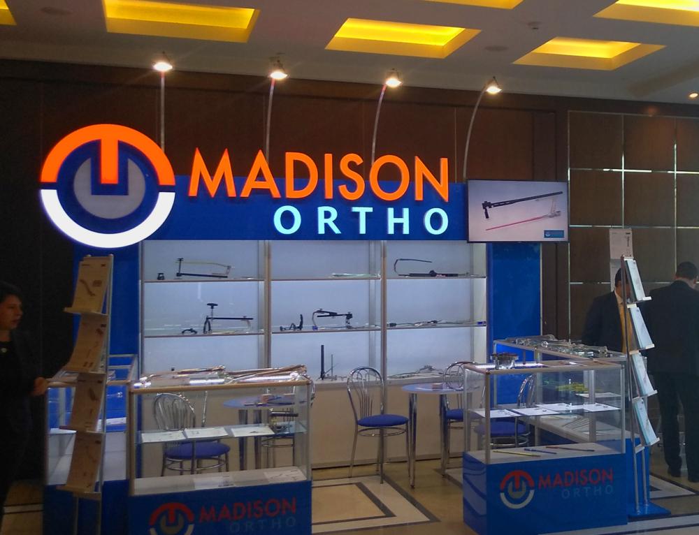 Дизайн и изготовление выставочного стенда для американской компании Madison