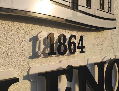 Буквы из акрила с подсветкой контражур в Харькове
