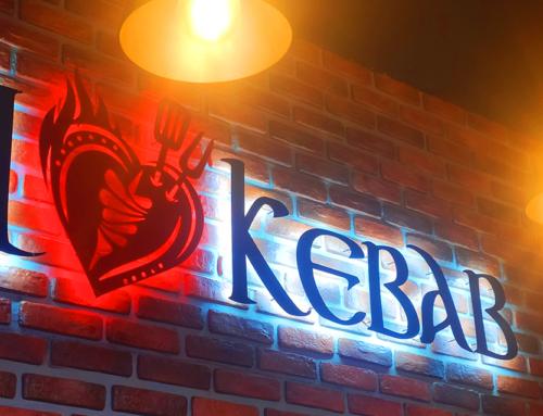 Объемные светящиеся буквы из акрила с подсветкой контражур в Харькове