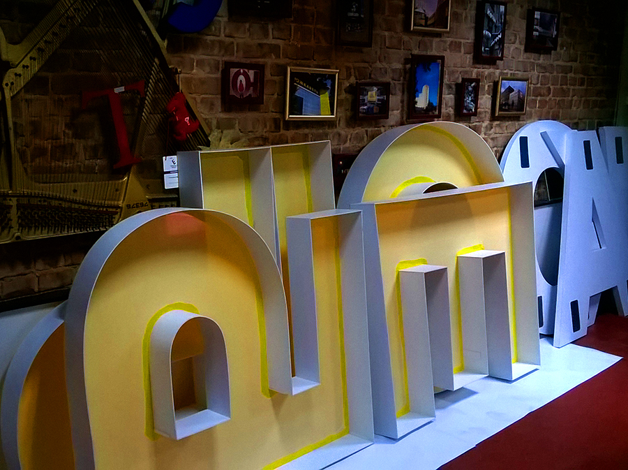 купить объёмные буквы в Харькове